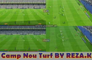 PES 2013 Nou camp Turf