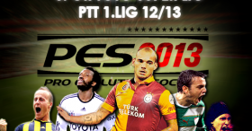 PES 2013 PS3 Turkish Süper Lig & PTT 1. League (EU) Option File