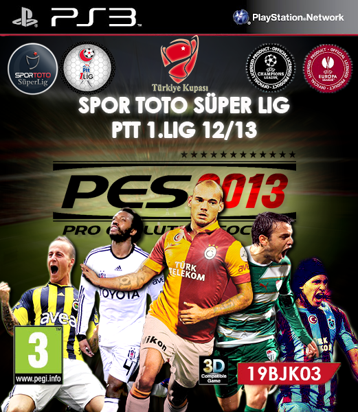 Pesfan patch pes 2013 ps3 v3