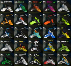 PES 2013 Pack of (81) Boots Pes 13 - V3 Full HD - 2