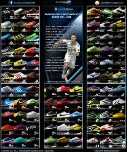 PES 2013 Pack of (81) Boots Pes 13 - V3 Full HD