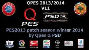 PES 2013 Qpes v11 patch for winter transfers