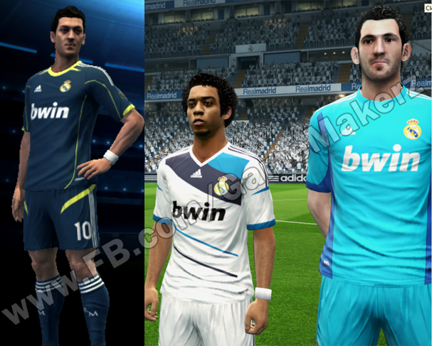 PES 2013 Real Madrid Fantasy Kit By GameMakerz