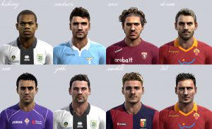 PES 2013 Serie A pack vol.3