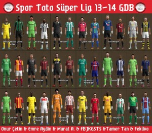 PES 2013 Spor Toto Super League 2013-2014 GDB Kitset by OnurCetin