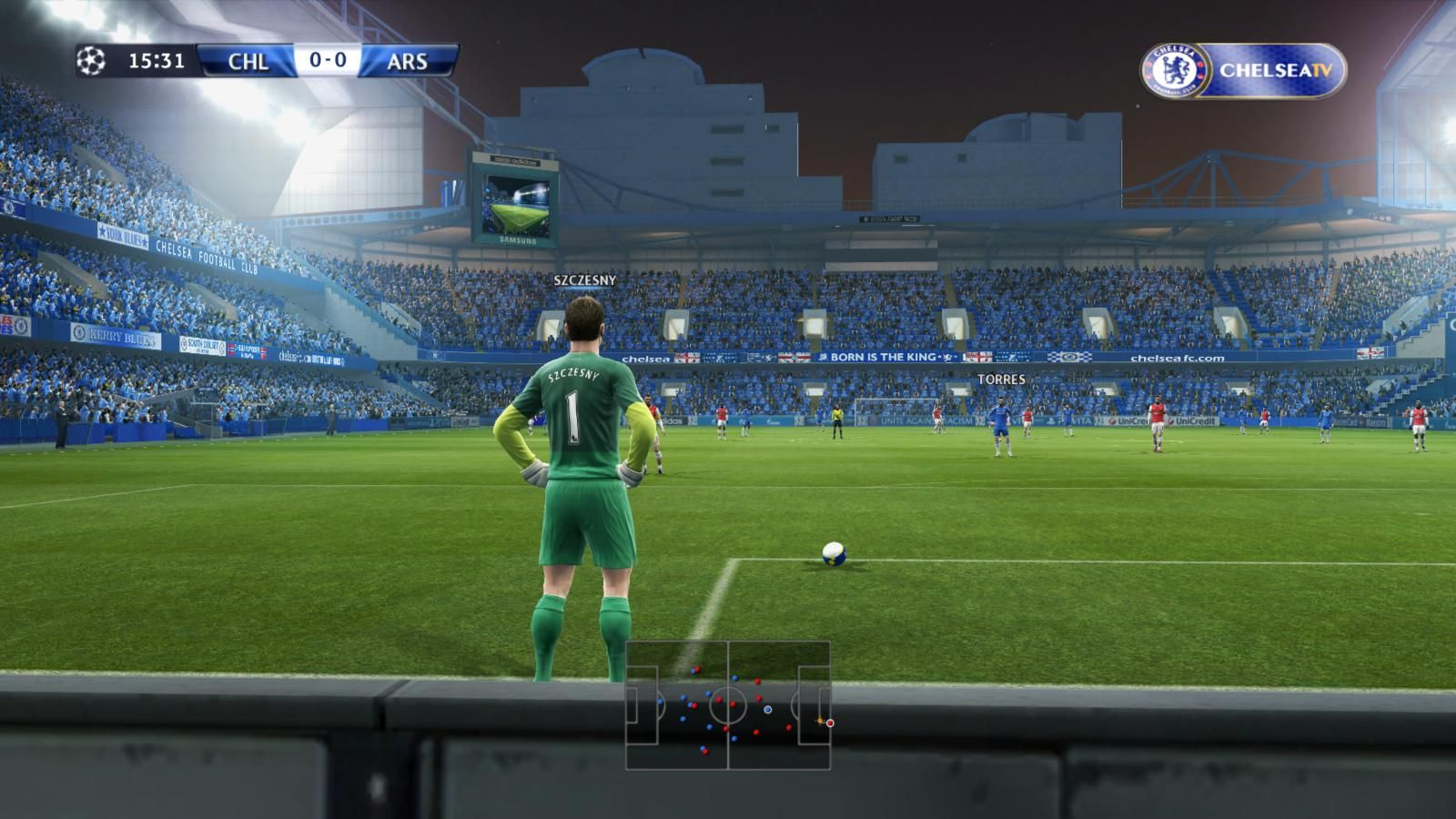 PES 2013 Stamford Bridge Stadium by Gkan - 2