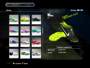 PES 2013 Tiempo Legend IV Boots by Wens