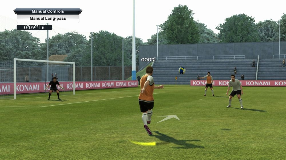 PES 2013 Training Screen