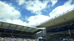 PES 2013 Ultra HD Skies for Stadiums