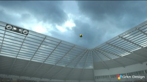 PES 2013 Ultra HD Skies for Stadiums - 5