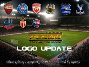 PES 2013 Wave Glossy Logopack