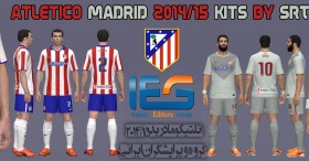 PES 2014 Atletico Madrid 2014-15 Kits