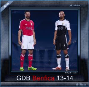 PES 2014 Benfice 2013-2014 GDB Kitset