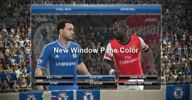 PES 2014 Blue Theme Design