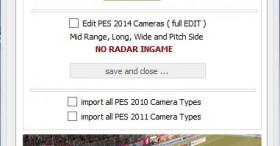 PES 2014 Camera Settings v1.2 by MxSonic