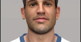 PES 2014 Christian Stuani HD Face