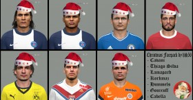 PES 2014 Christmas Facepack