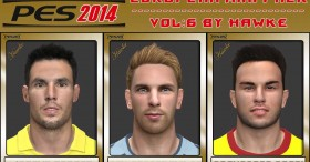 PES 2014 EU Mini Face Pack v6