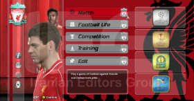 PES 2014 FC Liverpool Graphics by SRT