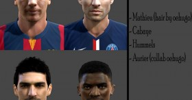 PES 2014 Facepack Vol 2