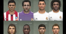 PES 2014 Facepack Vol 4 by Sameh Momen