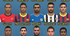 PES 2014 Facepack Vol.9