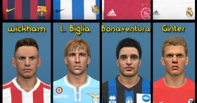 PES 2014 Facepack vol.13