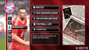 PES 2014 Graphic Patch Update