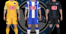 PES 2014 HERTHA BSC BERLIN 1415 Kits