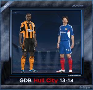 PES 2014 Hull City Kitset 13-14 by G-Star