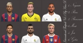 PES 2014 International Facepack Vol.1