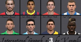 PES 2014 International facepack n°3