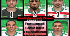 PES 2014 Iranian Player Facepack