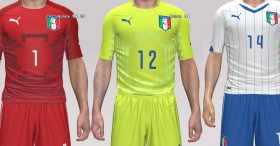 PES 2014 Italy World Cup 2014 Kit Pack