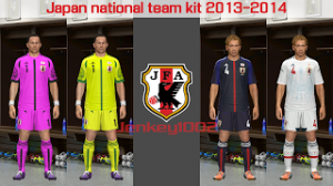 PES 2014 Japan National Team Kit 2013-2014