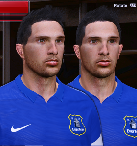 PES 2014 Kevin Mirallas Face