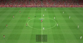 PES 2014 Konami & Old Trafford Stadium Turfs Night