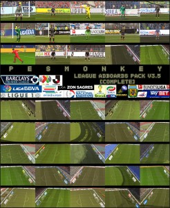 PES 2014 League Adboards Pack v3.5