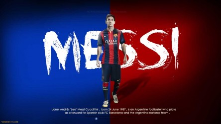 PES 2014 Lionel Messi Start Screen Patch