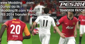 PES 2014 ModdingTR Transfer Patch V2