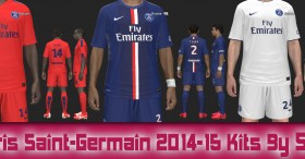 PES 2014 Paris Saint-Germain 2014-15 Kits