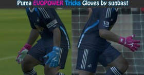 PES 2014 Puma EVOPOWER Tricks Gloves