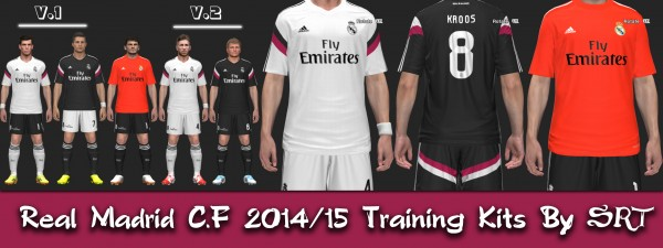 PES 2014 Real Madrid C.F 2014-15 Training Kits