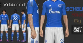 PES 2014 Schalke04 2014-15 Home Kit