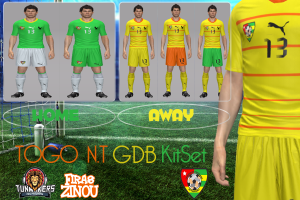 PES 2014 TOGO National Team GDB Kitset