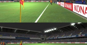 PES 2014 The New Den & Keepmoat Stadiums LightFX for Night mode - 2