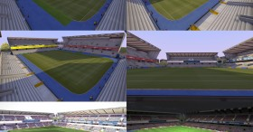 PES 2014 The New Den Stadium