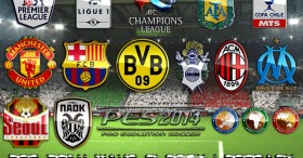 PES 2014 Wave Glossy Logopack - All In One