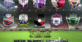 PES 2014 Wave Glossy Logopack - J. League Division 1 and Division 2