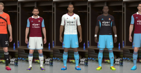 PES 2014 West Ham United 13-14 Kit Set Update 2